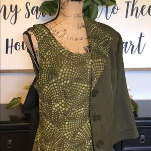 Green Dress & Jacket